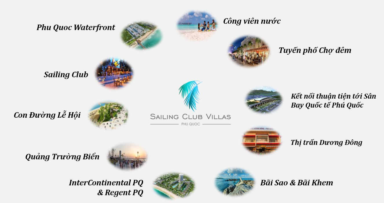 Sailing Villas Phu Quoc có hệ thống tiện ích đẳng cấp sailing club villas phú quốc TIỆN ÍCH DỰ ÁN SAILING CLUB VILLAS PHÚ QUỐC tien ich du an sailing club villas phu quoc
